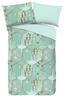 Wendebettwäsche Sienne - Hellgrün/Hellblau, MODERN, Textil (140/200cm)