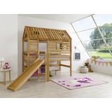 Spielbett Eliyas 90x200 Buche - Buchefarben, Design, Holz (90/200cm)