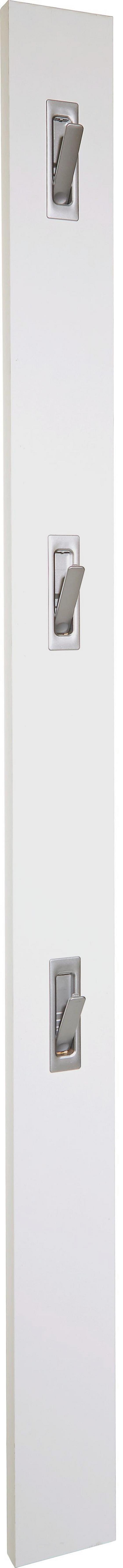 Garderobenleiste Enzo - Weiß, MODERN, Holzwerkstoff (12/175/2,8cm)