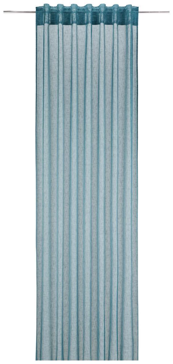 Závěs Mila, Ca. 140x245cm - petrolej, Konvenční, textil (140/245cm) - Mömax modern living