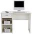 Psací Stůl Kubek 2 *cenový Trhák* - bílá, Moderní, dřevěný materiál (110/75/50cm)