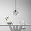 Závěsné Svítidlo Fano - černá, Moderní, kov/umělá hmota (20/20/125cm) - Mömax modern living