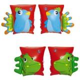 Schwimmflügel Dinosaur & Parrot Armbands - Multicolor, Kunststoff (23/15cm) - Bestway