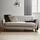 Pohovka Xavier - světle šedá, Moderní, dřevo/textilie (176/81/76cm) - Modern Living
