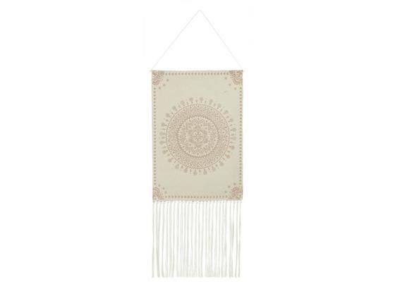 Dekoračné Ozdoby Paloma I - krémová, textil (50/120cm)