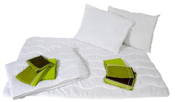 Bettenset Rosa 10-teilig - Weiß, KONVENTIONELL, Textil - Primatex