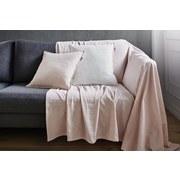 Přehoz Solid One -ext- - starorůžová, textil (140/210cm)