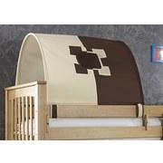 Tunnelset 2er Beige/ Braun - Beige/Braun, Design, Textil (180/13/16cm)