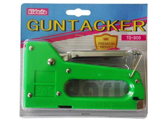 Tacker Guntacker - Grün, Basics, Kunststoff/Metall (14/10/2cm)