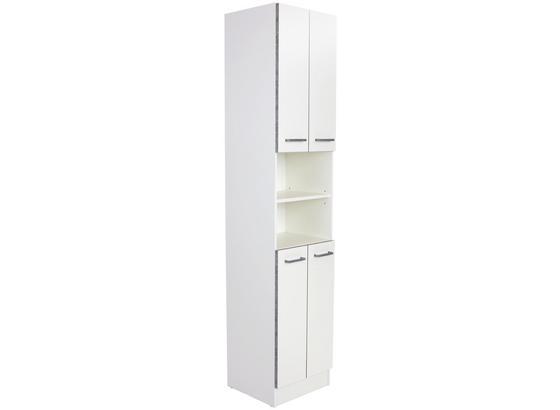 Hochschrank Verona - Weiß, KONVENTIONELL, Holzwerkstoff (50/195,6/30cm)