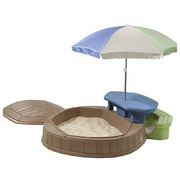 Kinder-Gartenset Np Summertime Play Center - Blau/Beige, MODERN, Kunststoff (145/169/178cm)