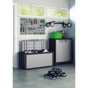 Keter Mehrzweckbox Wasserdicht Titan 118x55x49cm 300l Grau - Schwarz/Grau, Basics, Kunststoff (118/55/49cm) - Keter