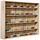 Závěsná Vitrína Collectizioni - Sonoma dub, kompozitní dřevo/sklo (80/60/9.5cm) - Mömax modern living
