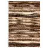 Webteppich Mo 60x110 - Beige/Braun, MODERN, Textil (60/110cm)