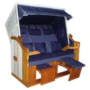 Strandkorbbezug Valentina - Blau/Weiß, KONVENTIONELL, Textil - Luca Bessoni