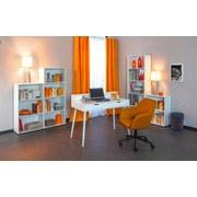 Regal Arco B 60cm, Weiß - Weiß, Basics, Holzwerkstoff (60/110/30cm) - Livetastic