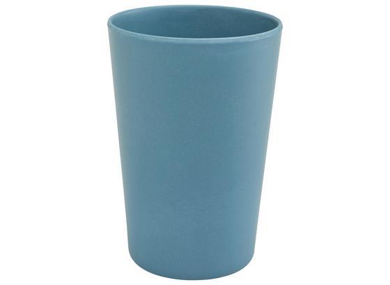 Hrnček Anabel - modrá, Natur, plast/prírodné materiály (9/13cm) - Zandiara
