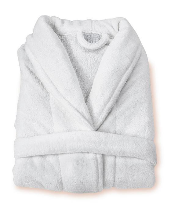 Bademantel Sina - Weiß, KONVENTIONELL, Textil - OMBRA
