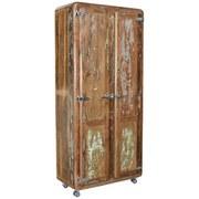 Garderobenschrank Lissabon B: 80 cm Altholz - Multicolor, Basics, Holz (80/180/40cm)