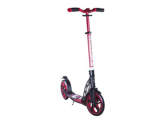 Scooter Six Degrees B: 34,5 cm Rot - Rot/Schwarz, Basics, Metall (93,5/34,5/105,5cm)
