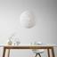 Závesná Lampa Sophia - biela, Štýlový, plast/prírodné materiály (50cm) - Mömax modern living