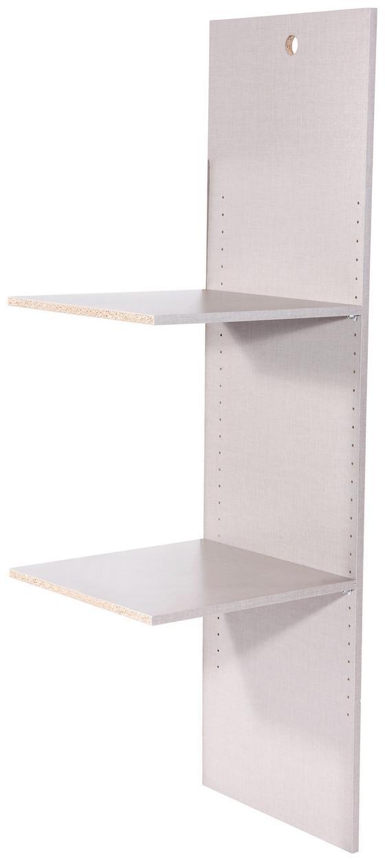 Vnitřní Členění Korbach - šedá, Moderní, dřevěný materiál (45/147/45cm)