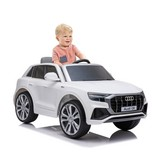 Kinderauto Audi Q8 Ride On Weiß - Weiß, Basics, Kunststoff/Metall (108/66/55cm)