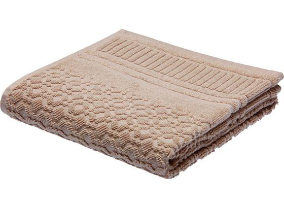 Ručník Carina -top- - hnědá, Romantický / Rustikální, textil (50/100cm) - Mömax modern living