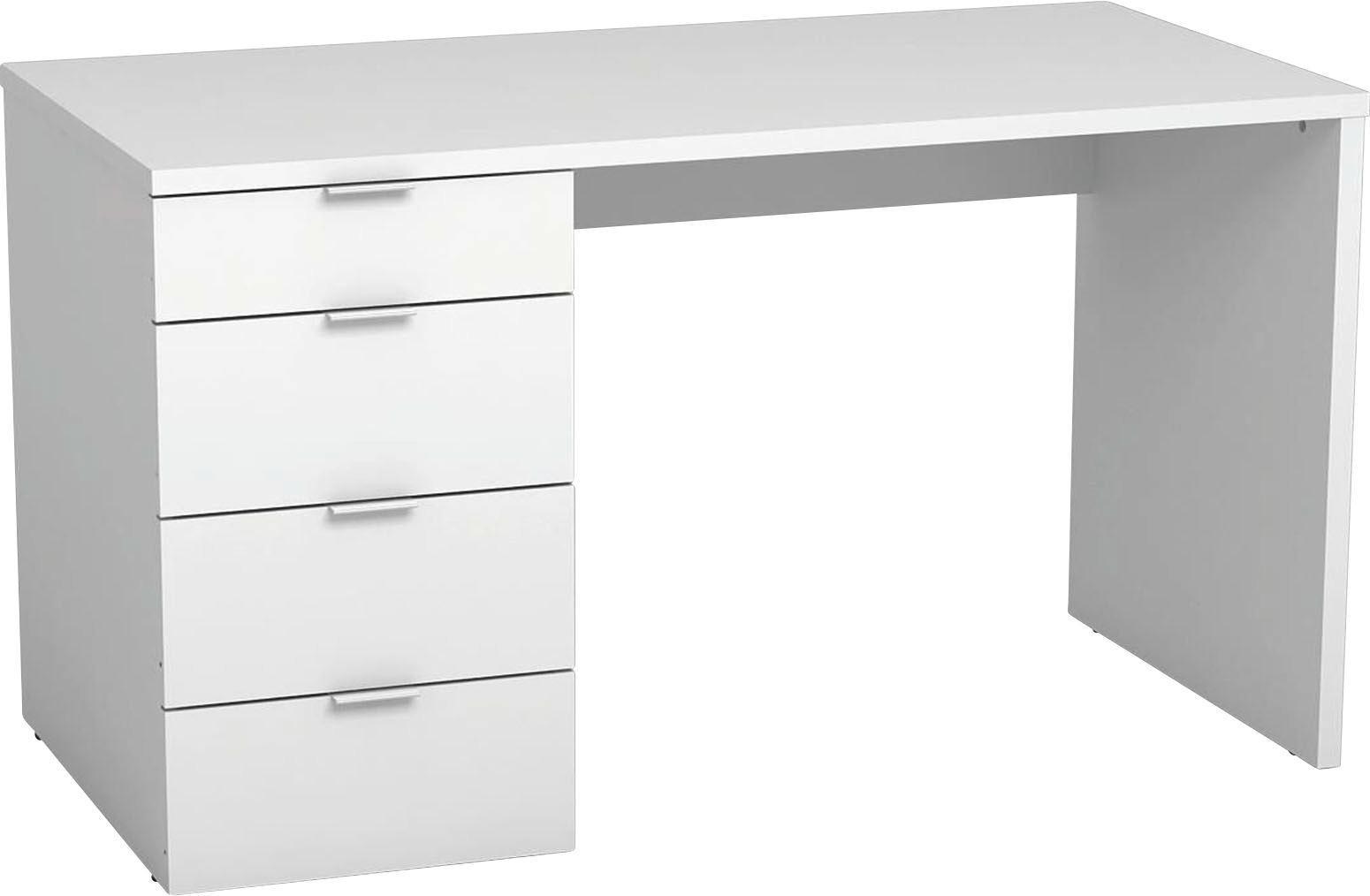 Schreibtisch Livona II   Weiß, MODERN, Holzwerkstoff (120/75/60cm)