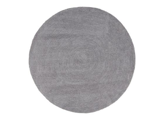 runder teppich  grau mit  cm durchmesser