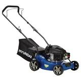 Benzin-Rasenmäher lm4001g - MODERN, Kunststoff/Textil (45,5/100/130cm) - Hyundai