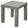 Odkladací Stolík Normen *cenový Trhák* - sivá, Moderný, kompozitné drevo (39mm)