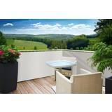 Sichtschutz Sylt - Weiß, KONVENTIONELL, Kunststoff (90/500cm)