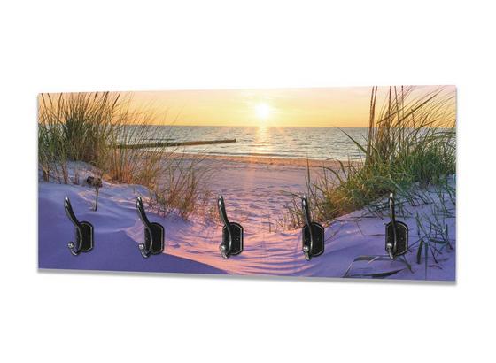 Hakenleiste Sunset - Multicolor, MODERN, Holzwerkstoff (70/30/7cm)