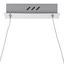 Závěsné Led Svítidlo Kristi - barvy stříbra, Romantický / Rustikální, kov/umělá hmota (76/120cm) - Premium Living