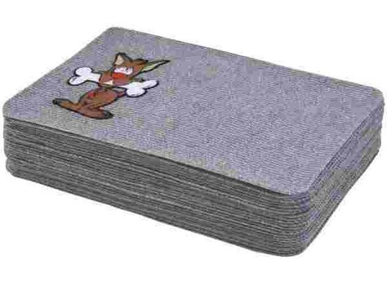 Fußmatte mit Tiermotiv 40x60 cm - Grau, KONVENTIONELL, Textil (40/60cm)