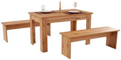 Tischgruppe PARIS Holzdekor