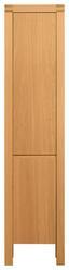 Vitrine Erwan 40cm Eiche - Eichefarben/Naturfarben, KONVENTIONELL, Holzwerkstoff (40/184/40cm)