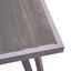 Loungegarnitur Pula - Hellgrau/Grau, MODERN, Glas/Kunststoff (165/121cm) - Ombra