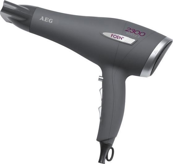 AEG Haartrockner Ht 5580, Simon - Anthrazit/Silberfarben, KONVENTIONELL, Kunststoff - AEG