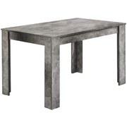 Esstisch Nick L: ca. 120 cm Grau - Grau, MODERN, Holzwerkstoff (120/80/75cm) - MID.YOU
