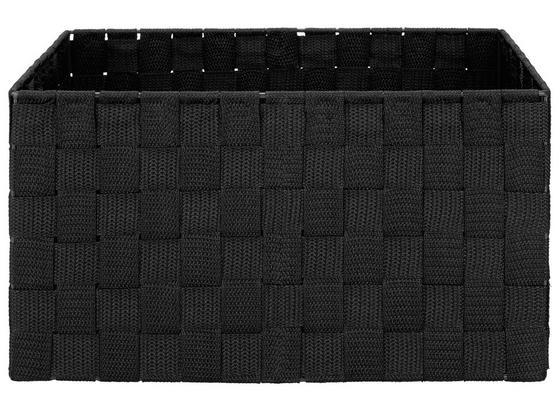 Koš Charlotte - M - černá, kov/umělá hmota (33,5/23,5/18cm) - Mömax modern living