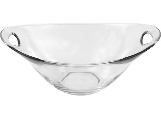Dessertschale Gadi 5 - Klar, KONVENTIONELL, Glas (23cm) - Luca Bessoni