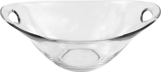 Desszertes Tál Gadi - tiszta, konvencionális, üveg (23cm) - LUCA BESSONI