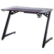 Gaming Tisch + Getränkehalter B 111cm H 75cm DX Racer 5 - Schwarz, Design, Holzwerkstoff/Metall (111/60/75cm) - Dxracer