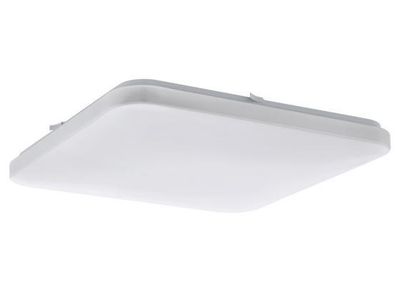LED-Deckenleuchte Frania - Weiß, MODERN, Kunststoff/Metall (43/43/7cm)
