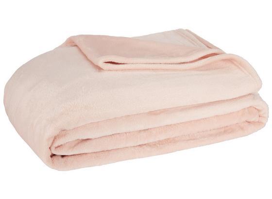 Měkká Deka Michael Xxl - růžová, textil (220/240cm) - Mömax modern living
