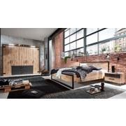 Futonbett 160x200 Detroit Eichefarben + Graphit - Eichefarben, Basics, Holzwerkstoff (169/94/210cm) - MID.YOU