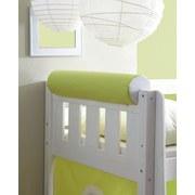 Nackenrolle Gelb/Weiß L: 79cm - Gelb/Weiß, KONVENTIONELL, Textil (79/16,5/16,5cm) - Livetastic