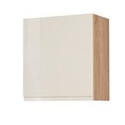 Küchenoberschrank Cardiff B: 50 cm Creme/Sonoma - Creme/Sonoma Eiche, Basics, Holzwerkstoff (50/57/34cm)
